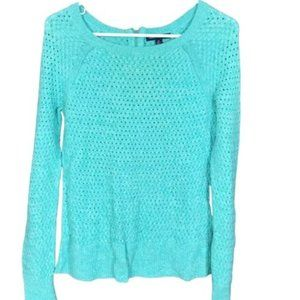 American Eagle Outfitters Aqua Soft Sweater Size S